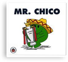Mr Chico Canvas Print