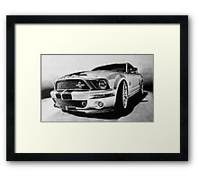 Shelby Mustang GT-500 KR Framed Print