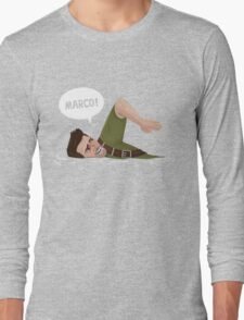 Marco Polo (Nathan Drake from Uncharted) Long Sleeve T-Shirt