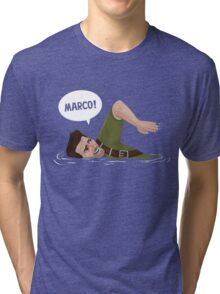 Marco Polo (Nathan Drake from Uncharted) Tri-blend T-Shirt