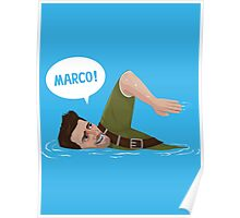 Marco Polo (Nathan Drake from Uncharted) Poster