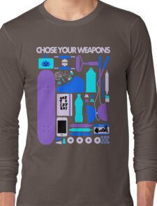 Chose Your Weapons - New Colours Long Sleeve T-Shirt