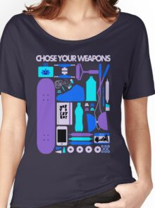 Chose Your Weapons - New Colours Women's Relaxed Fit T-Shirt