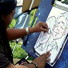 Caricature Artist by ctheworld