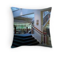 Law Library Steps  ^ Throw Pillow