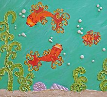 Fishes Underwater by Jennifer Gibson