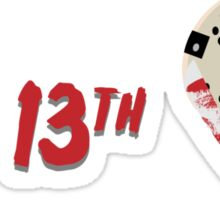 Thank God It's Friday the 13th Version 2 Sticker