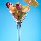 Glass With Fruit Salad by savage1