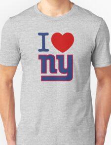 I Heart ( LOVE ) NY - Giants - v2 T-Shirt