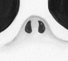 Sugar Skull Jack Skellington face Sticker