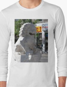 Montreal Chinatown Lion Long Sleeve T-Shirt