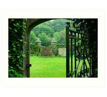 Garden, Waterford Castle Art Print