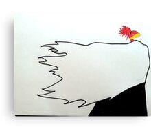 Minimalist Renji Abarai Canvas Print