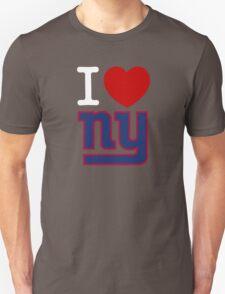 I Heart ( LOVE ) NY - Giants - Alternate T-Shirt