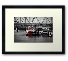 Belle of Cincinnati - SC Framed Print