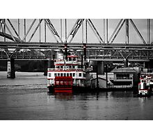 Belle of Cincinnati - SC Photographic Print