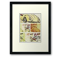 Rad Sunday  Framed Print