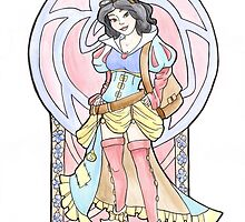 Steampunk Snow White by Karen  Hallion