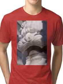 Montreal Chinatown Lion Tri-blend T-Shirt