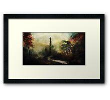 The Satyr of Arcadia Framed Print