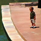 Little Boy with Daddy by Lenore Senior