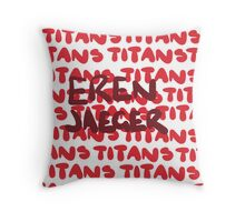 Titans Are My Trigger! Throw Pillow