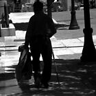 Black Man with Cane by Lenore Senior