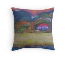 beach house- north queensland Throw Pillow