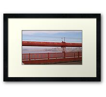 The Other Cables Framed Print