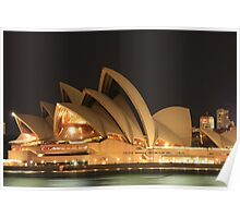 The Sydney Opera House at Dawn Poster