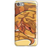 Caramel Albino Ball Python V2 iPhone Case/Skin