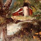 Old Farm House by Cathy Amendola
