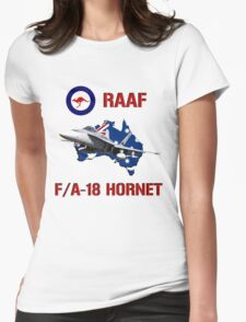 F/A-18 Hornet of the RAAF Womens Fitted T-Shirt