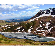 Alpine Lake - Beartooth Highway Photographic Print