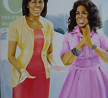 Oprah & Michelle Obama by Aestheticz .