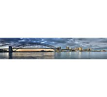 The Coathanger - (35 Exposure HDR Panorama) , Sydney Harbour, Sydney Australia - The HDR Experience Photographic Print