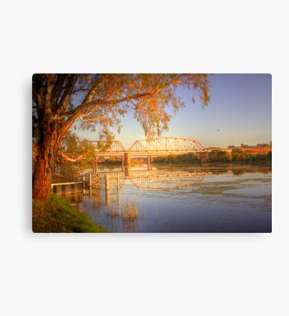 The Bridge - Murray Bridge, South Australia Canvas Print