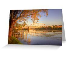 The Bridge - Murray Bridge, South Australia Greeting Card
