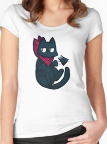 Sakamoto and Karasu Women's Fitted Scoop T-Shirt