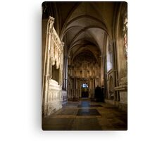Gothic tomb Canvas Print