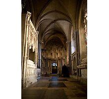 Gothic tomb Photographic Print