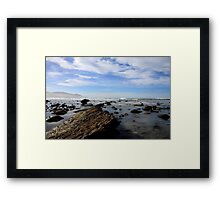 Gore Bay - New Zealand Framed Print