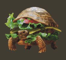 Turtle Sandwich Fast Food by Jeromy Shald
