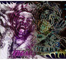 Freaky Meld Photographic Print