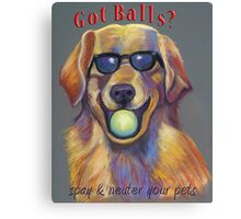 Golden Retriever - Spay/Neuter Canvas Print