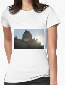 Chateau Frontenac Womens Fitted T-Shirt