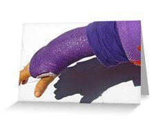 I love purple! Greeting Card