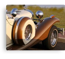 side view of the Excalibur Canvas Print