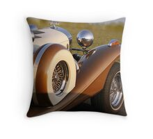 side view of the Excalibur Throw Pillow