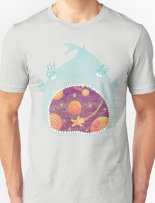 Cosmic Fish with Gingerbread Astronaut T-Shirt